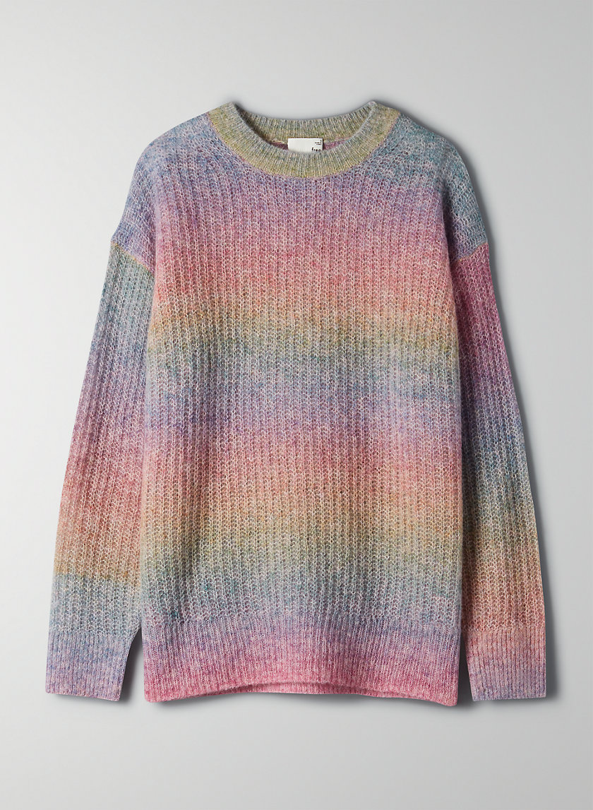 PHILIPPA SWEATER - Relaxed crewneck alpaca sweater