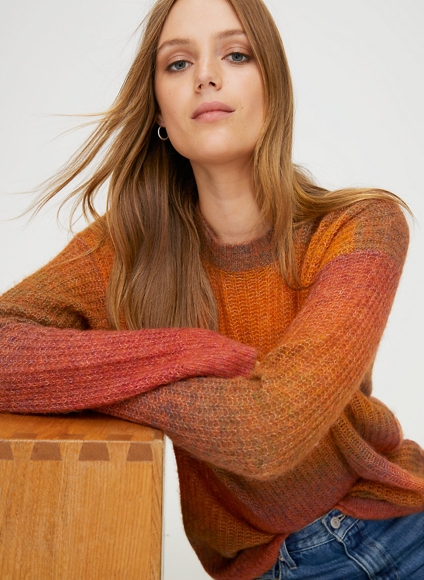 COSMIC CREW SWEATER - Oversized crewneck sweater