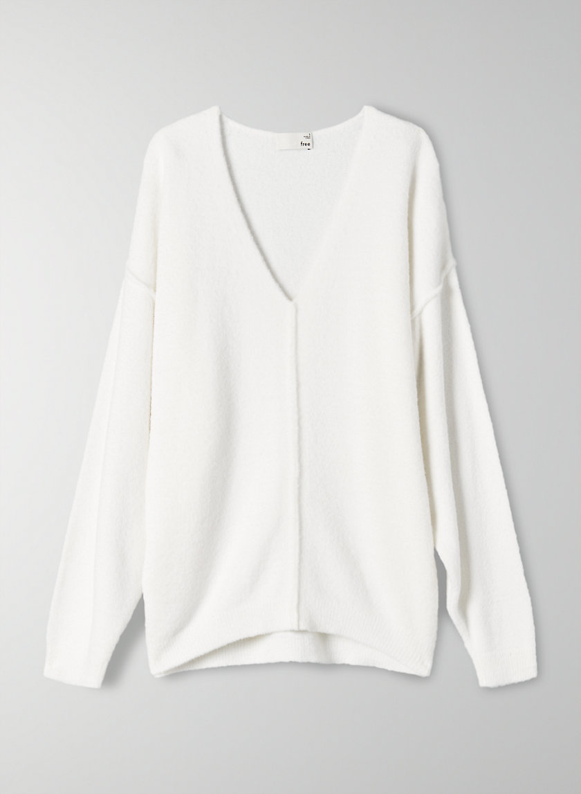 CLEONA SWEATER - Relaxed chenille sweater