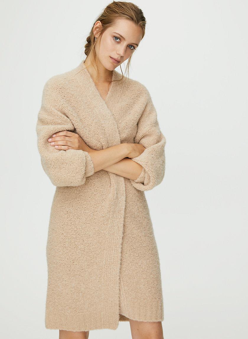 AMORA CARDIGAN - Coat-style long cardigan