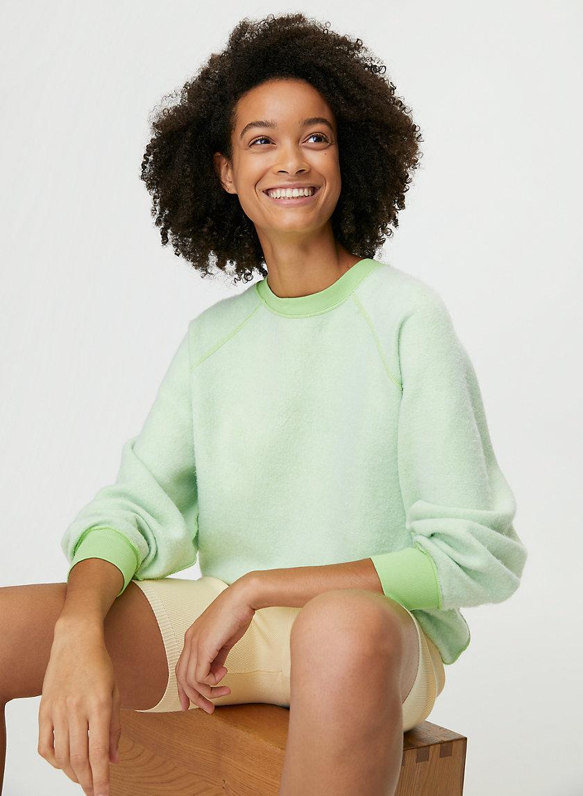 INSIDE OUT CREWNECK - Oversized crew-neck sweater