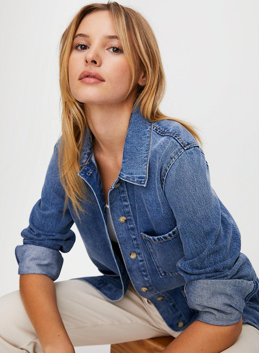 ABIGAIL SHACKET - Workwear-inspired denim jacket