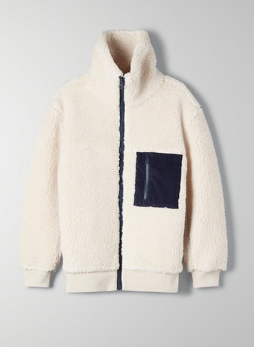 THE TEDDY JACKET - Zip-up teddy jacket