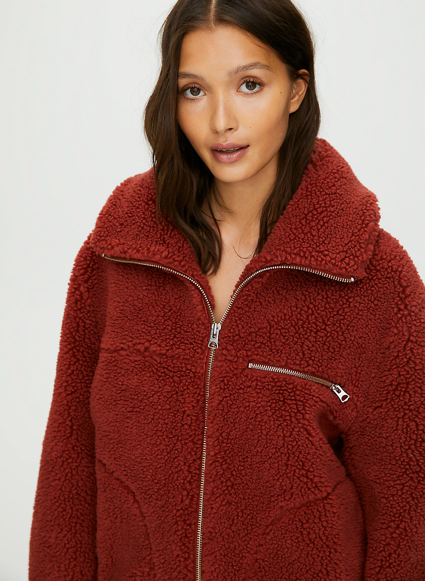 THE TEDDY JACKET - Zip-up teddy jacket