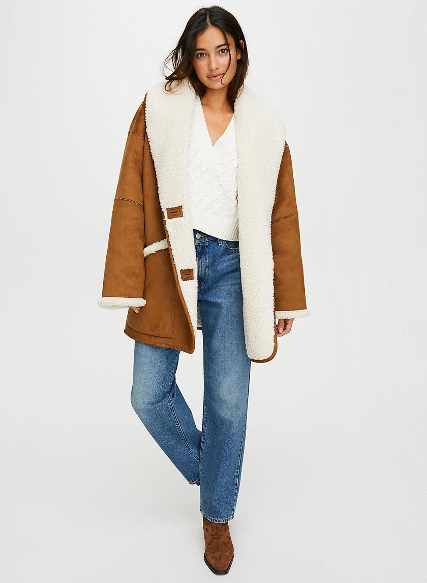 ASTRAL JACKET - Faux shearling jacket