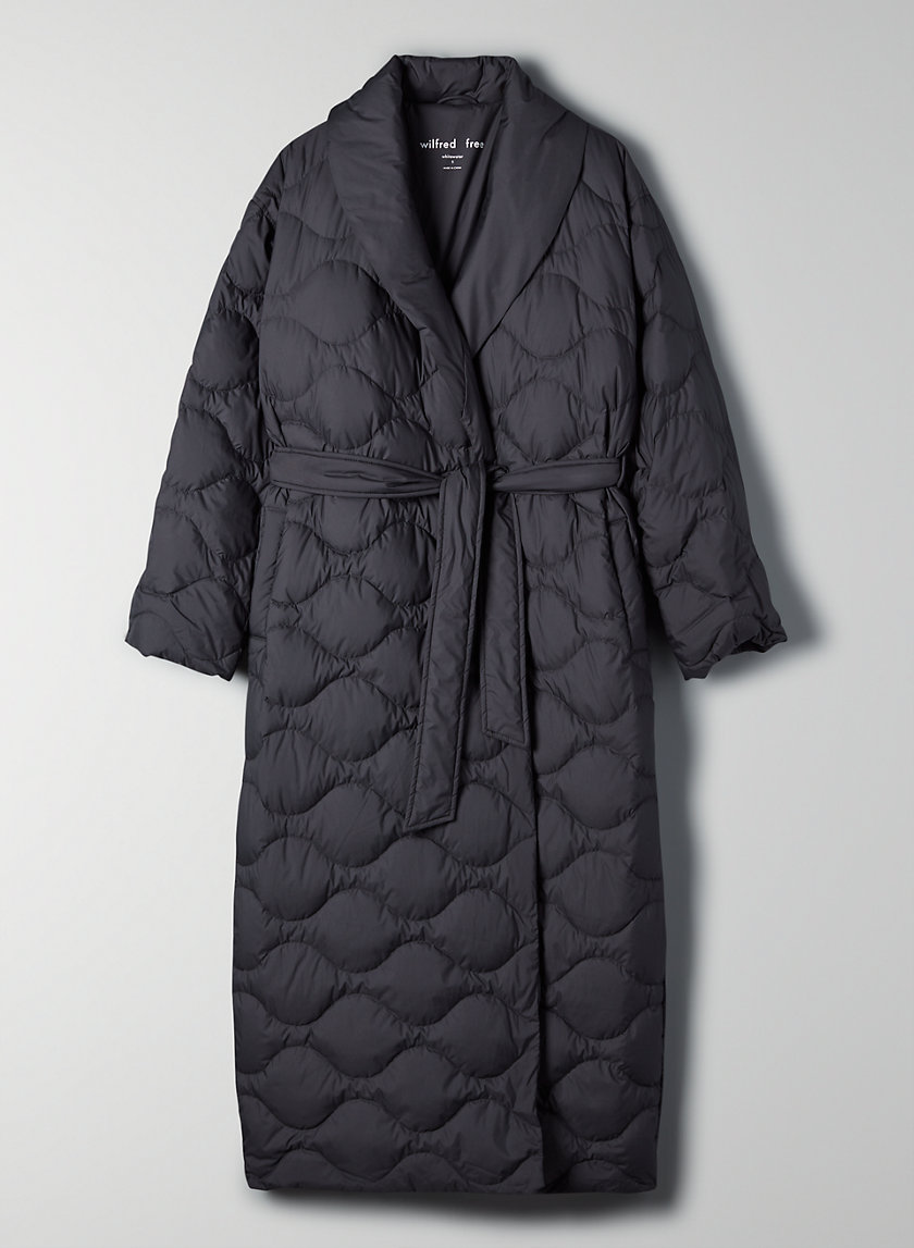 WHITEWATER PUFFER - Long goose-down puffer coat