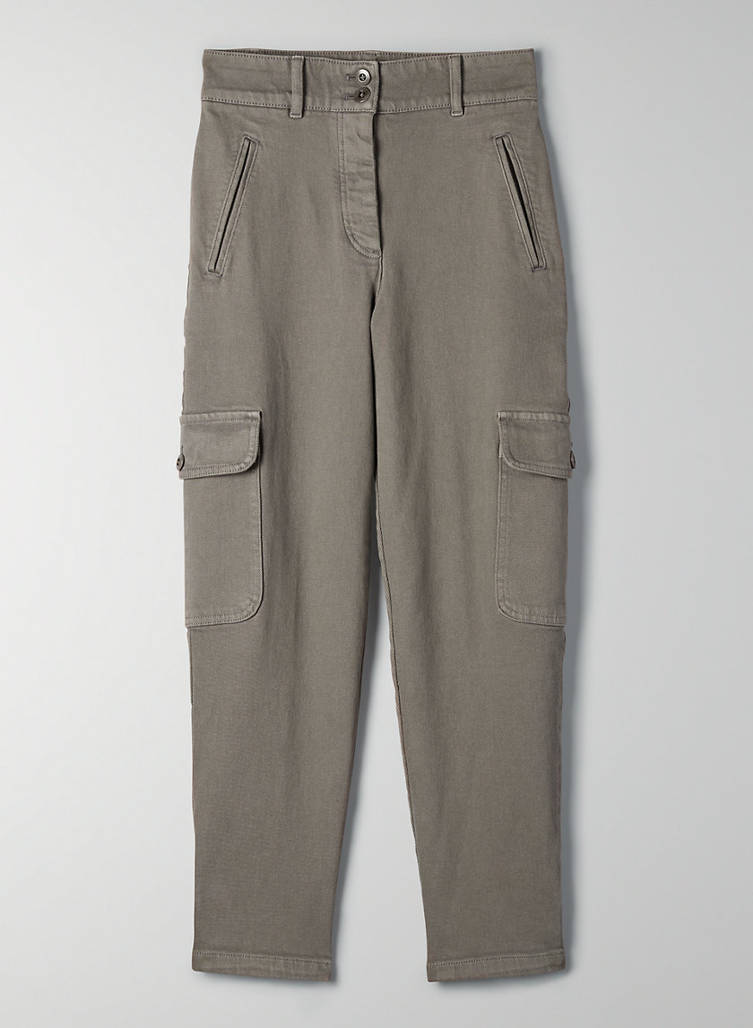 MILA PANT - High-waisted cargo pant