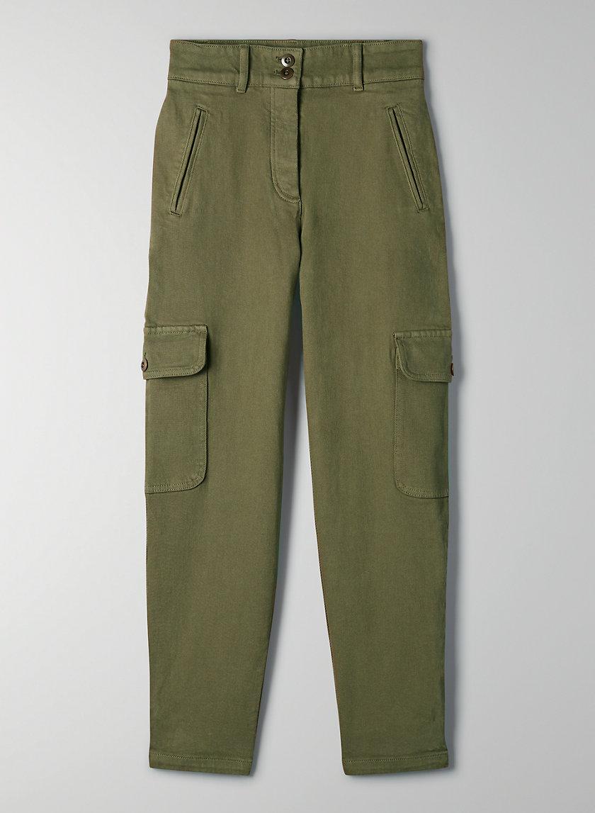 MODERN CARGO PANT - High-waisted cargo pant