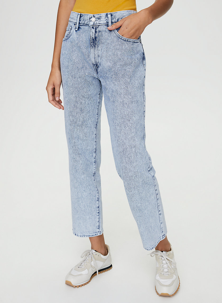 DAD JEAN - Low-rise, loose-fit jean