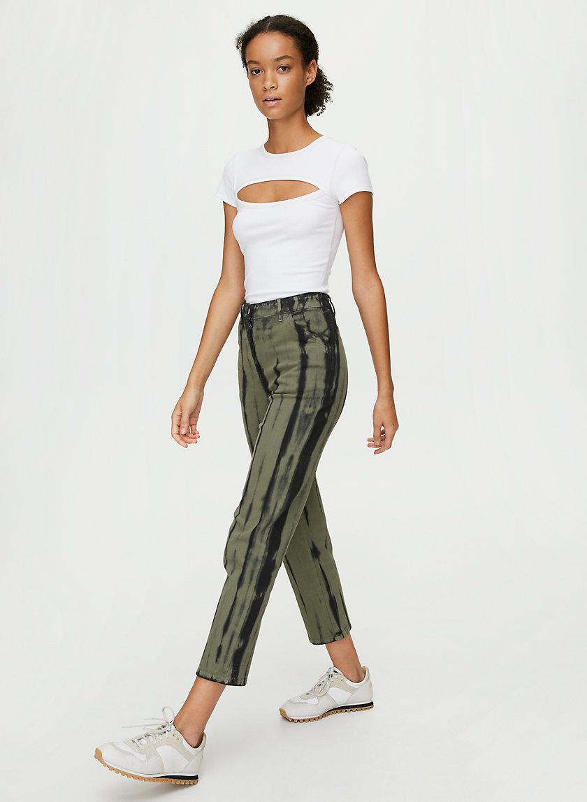 KELSEY PANT - Tie-dye utility pant