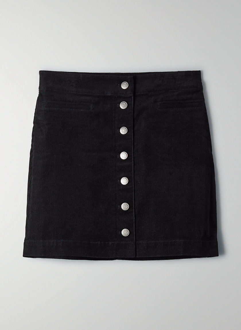 KARMEN SKIRT - Corduroy mini skirt