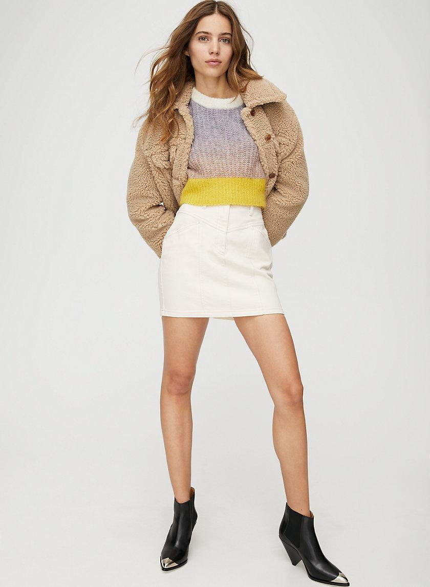 KELSEY SKIRT - Utility mini skirt