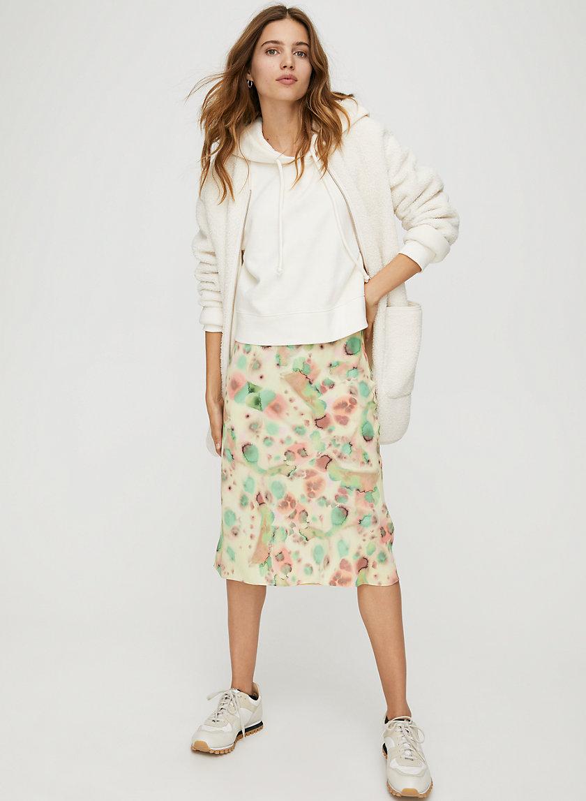 KYRA SKIRT - Print slip skirt