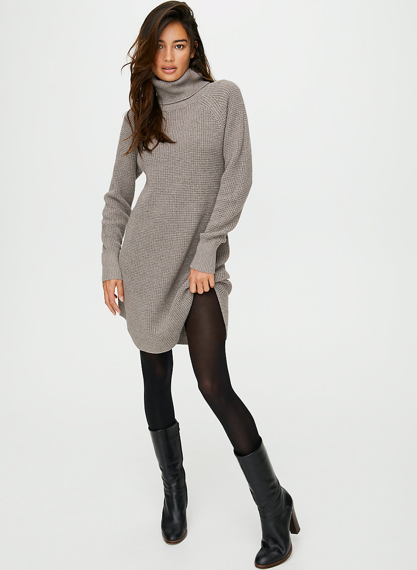 BIANCA DRESS - Merino wool sweater dress