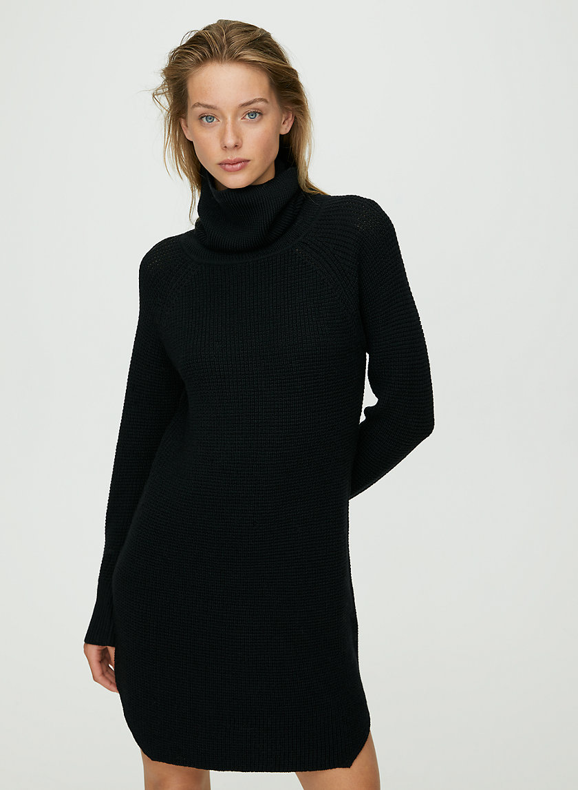 BIANCA DRESS - Merino wool sweater dress