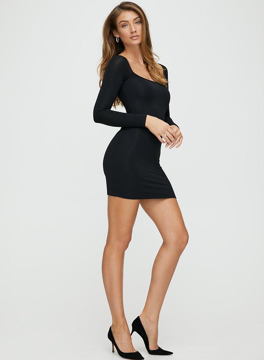 DIANA DRESS - Long sleeve bodycon dress
