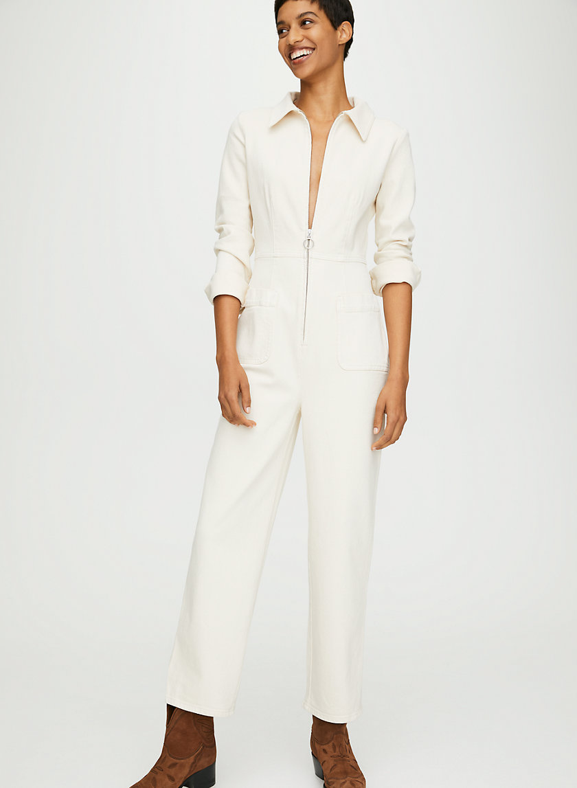 AUBREY JUMPSUIT - Zipper-front boilersuit