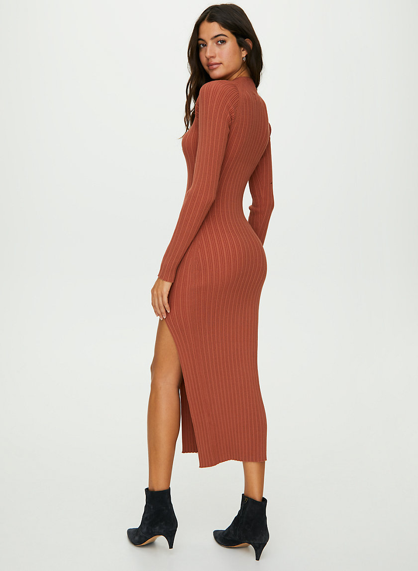 ALCHEMY DRESS - Long-sleeve bodycon dress