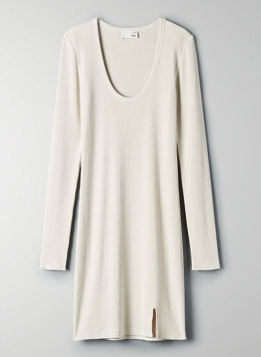 NOVA DRESS - Scoop-neck bodycon dress