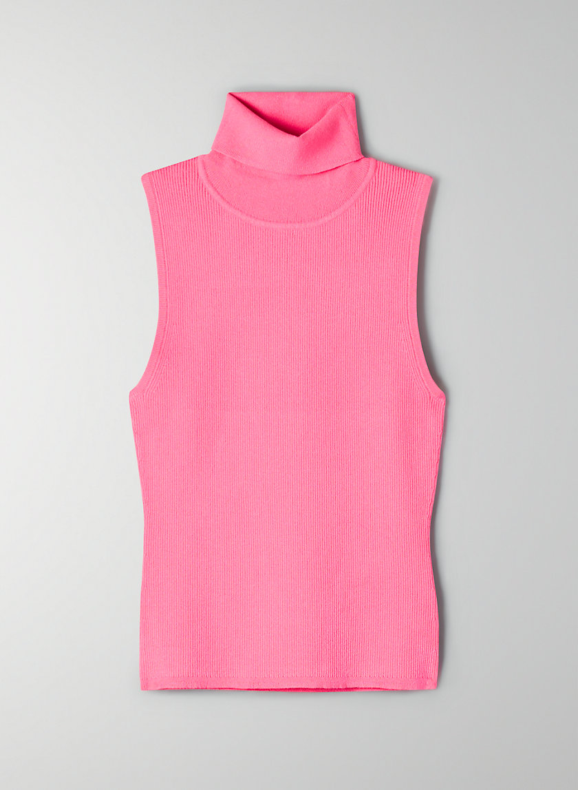 VESPER SWEATER - Sleeveless turtleneck sweater
