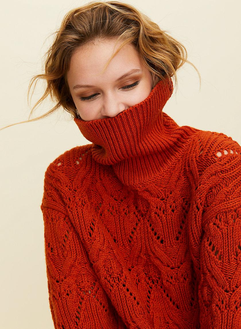 NEGRONI SWEATER - Wool turtleneck