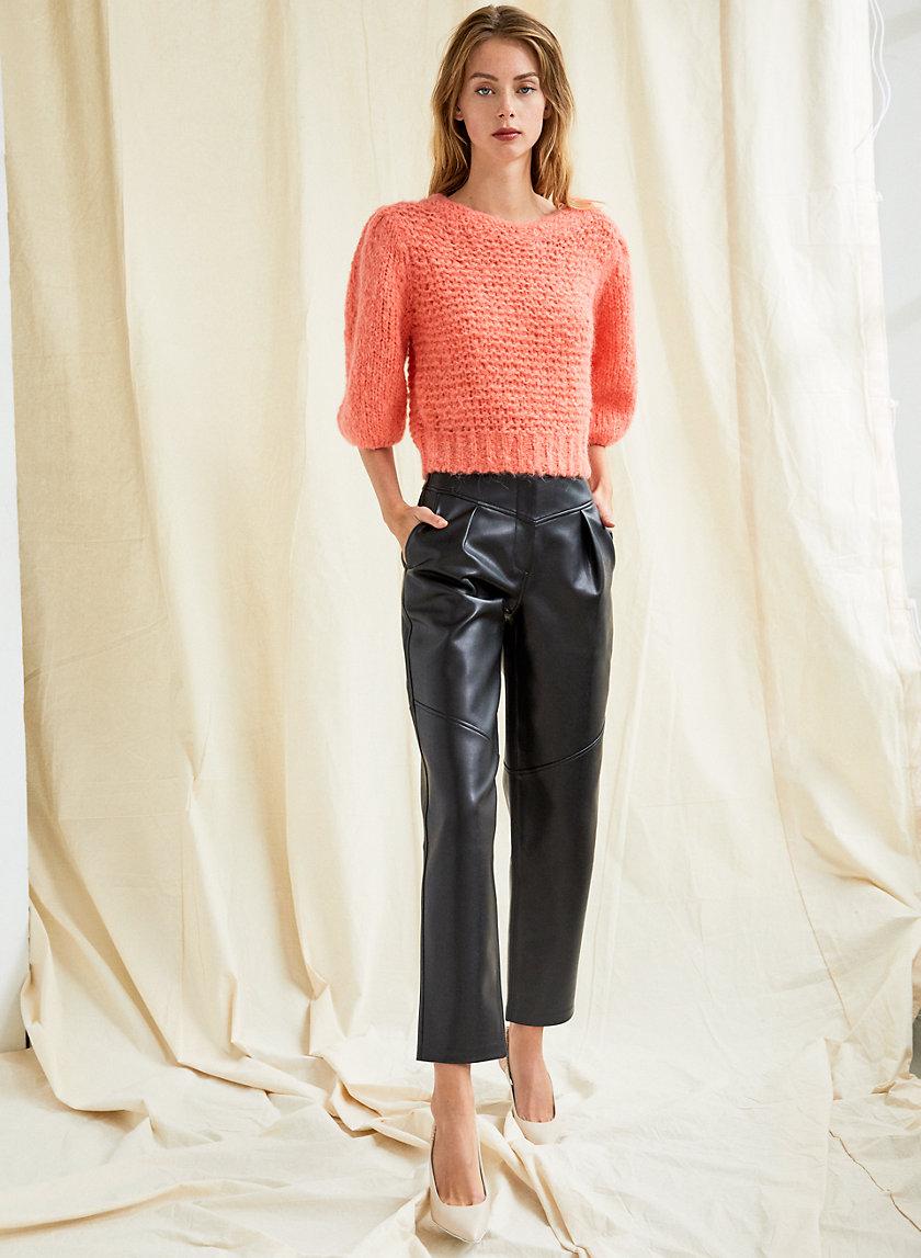 LINDY SWEATER - Alpaca knit sweater