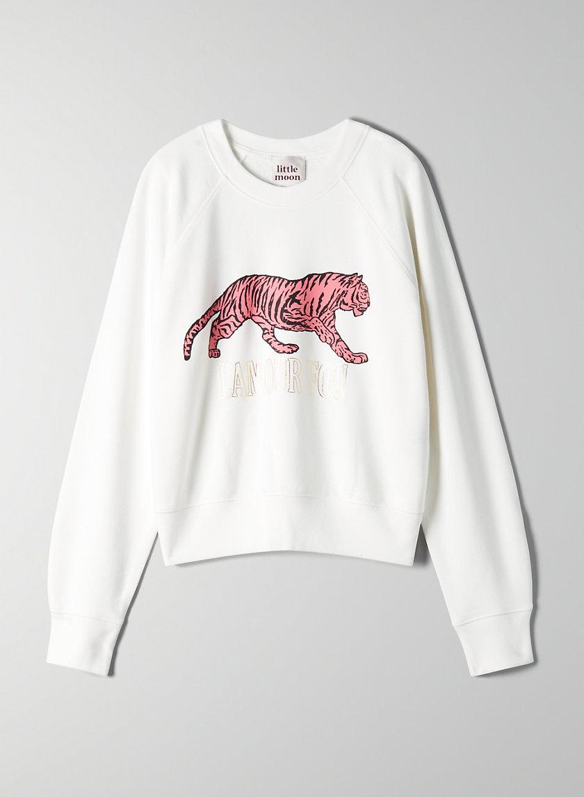 POSEY SWEATSHIRT - Cropped graphic sweater