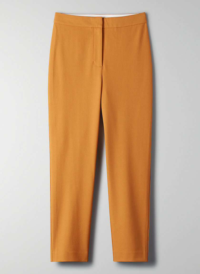 MARTINI PANT - High-rise cigarette pants