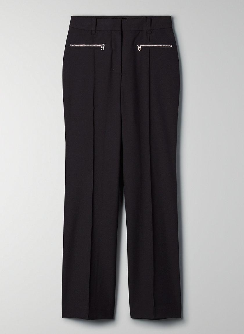 BELLINI PANT - High-rise flared pant