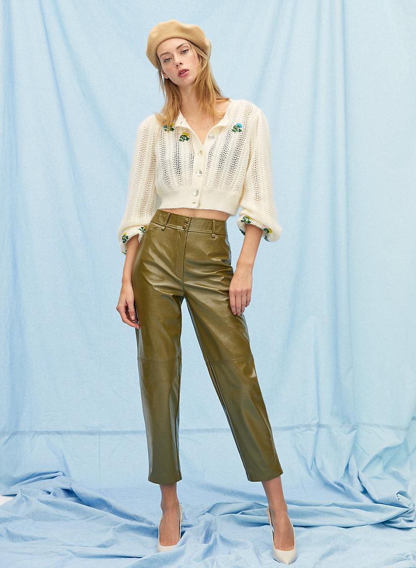 FUNK PANT - Glossy vinyl pants