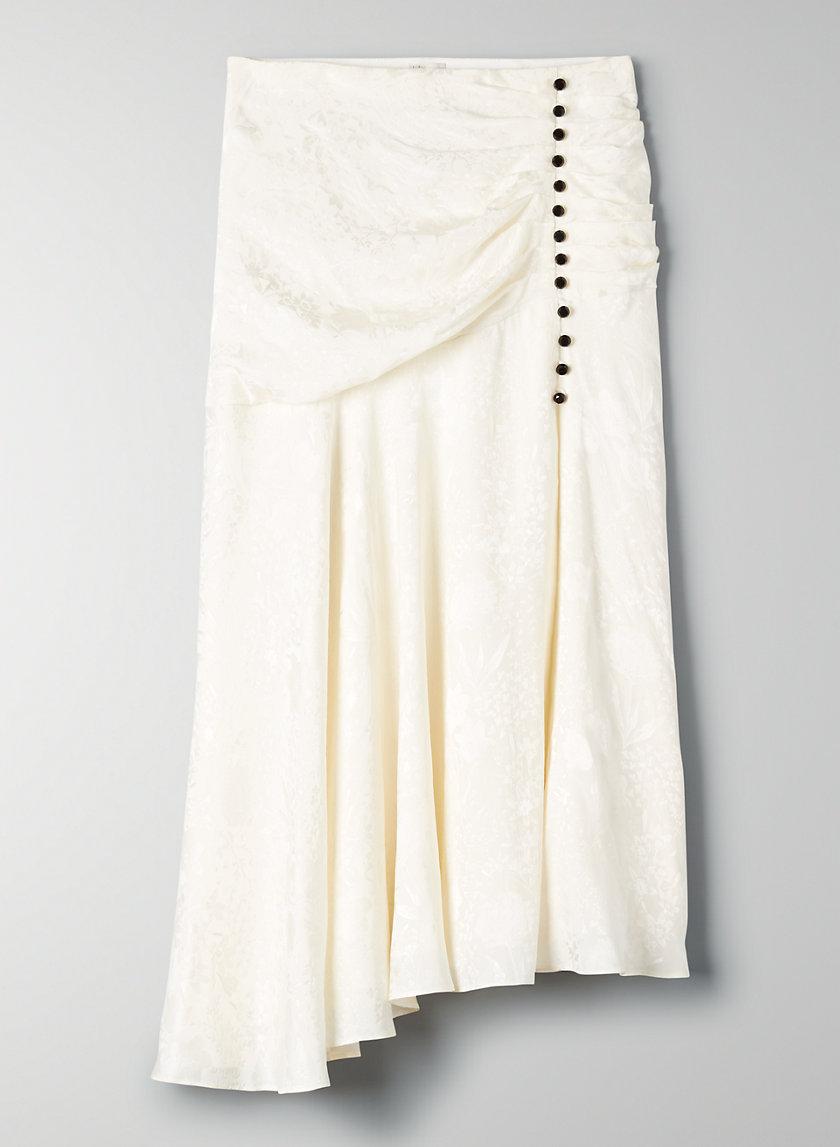 TANGO SKIRT - Silk tulip skirt