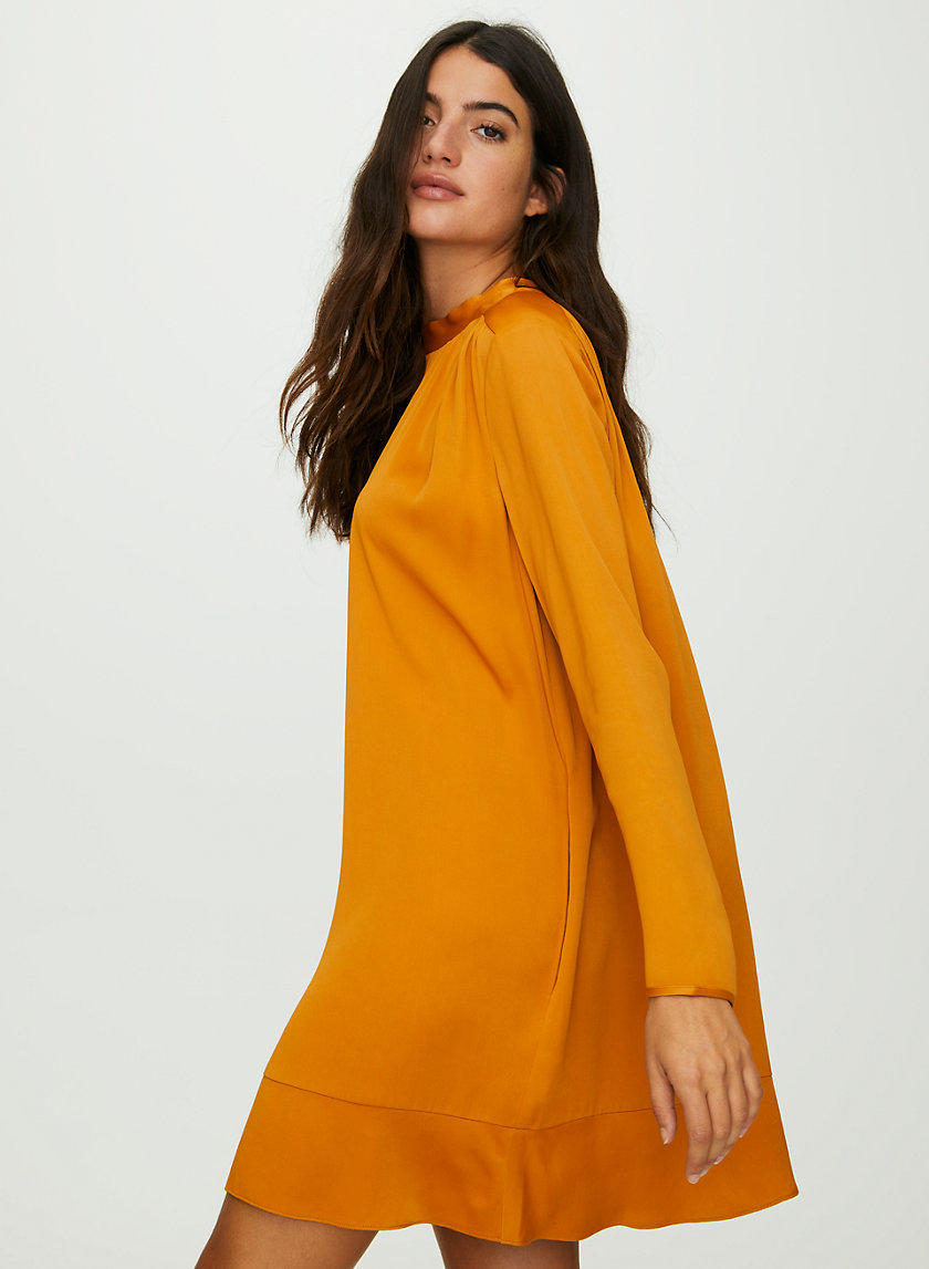 HONEYSUCKLE DRESS - Long-sleeve mini dress