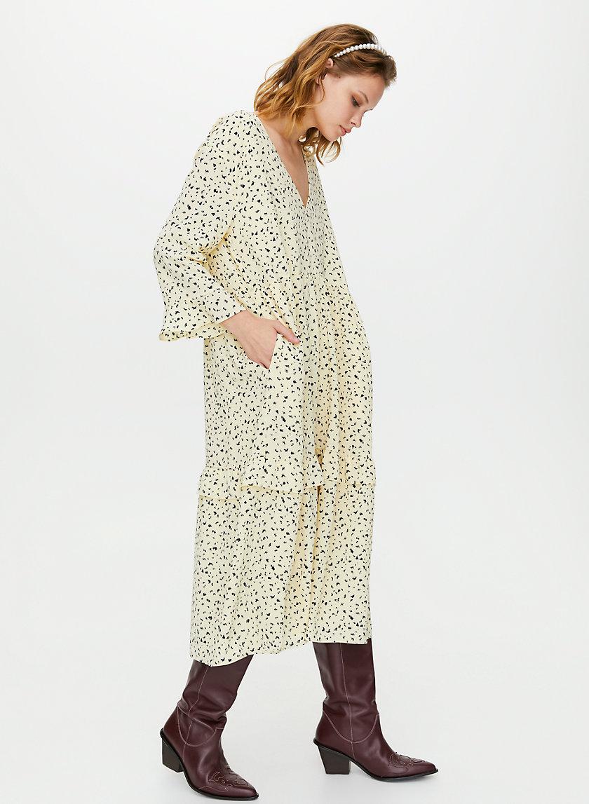 SPRITZ DRESS - Ruffle maxi dress