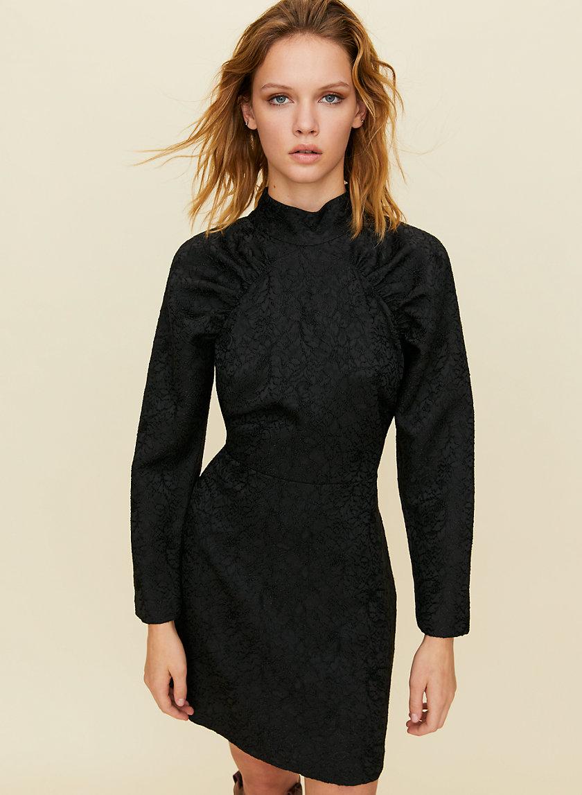 SANGRIA DRESS - Puff-sleeve mini dress