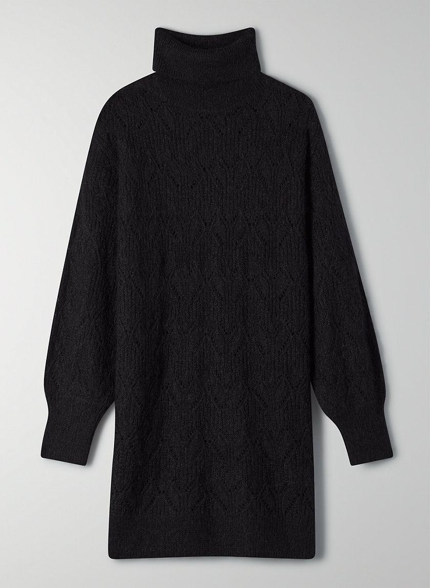 NEGRONI DRESS - Turtleneck sweater dress