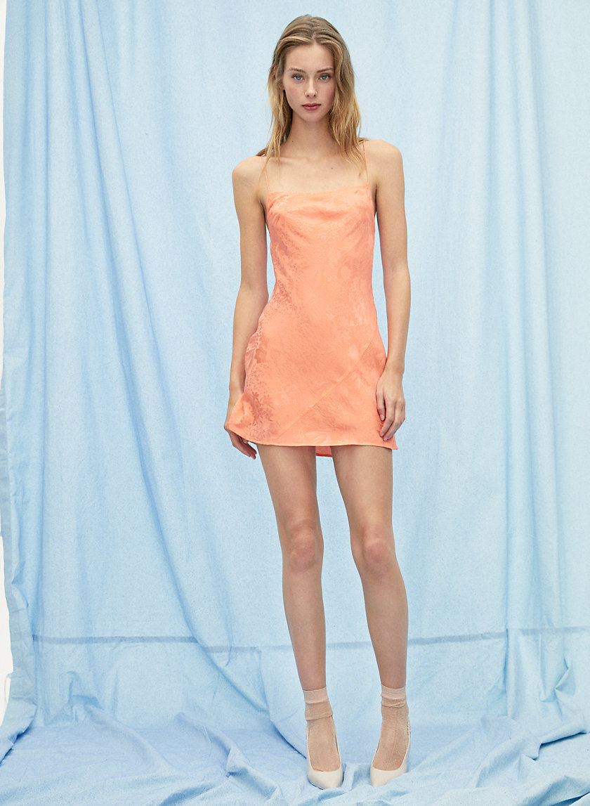 SAMBA DRESS - Silk mini slip dress