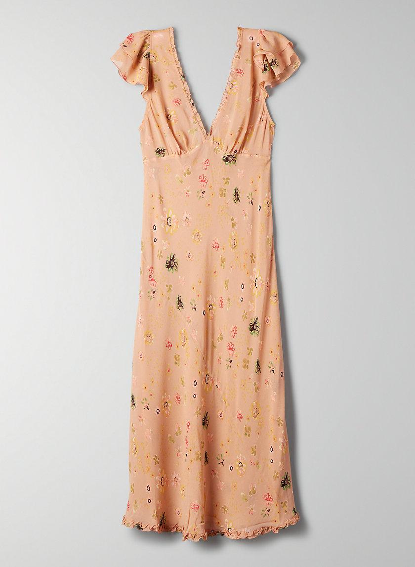 SALSA DRESS - Silk dress