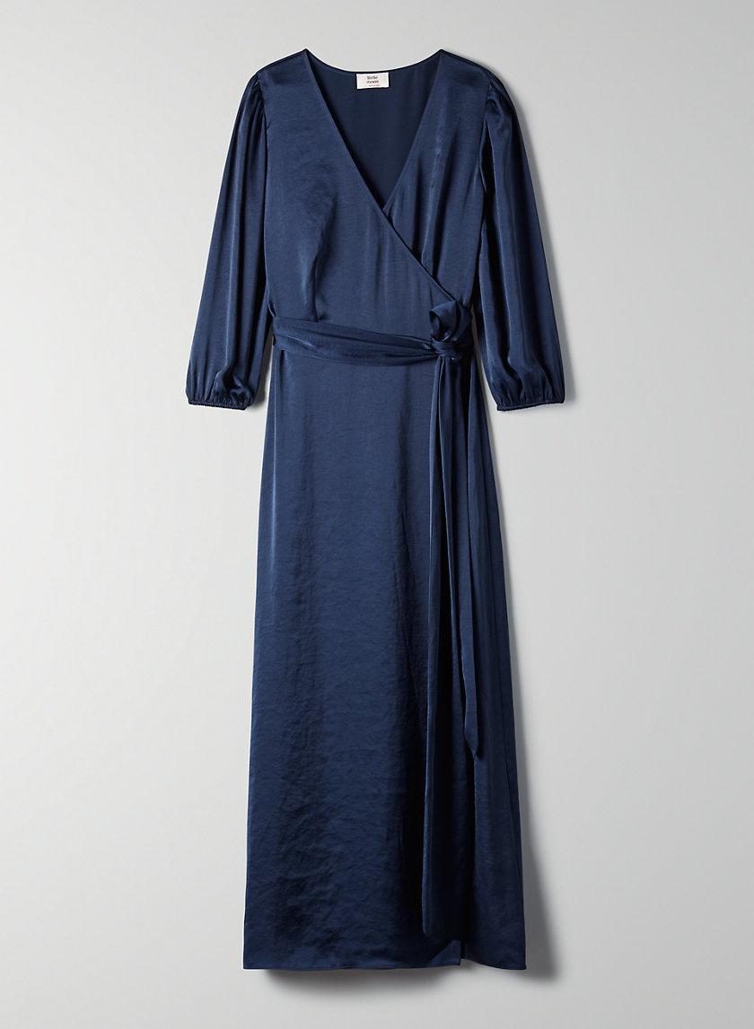 VESPER DRESS - Maxi wrap dress