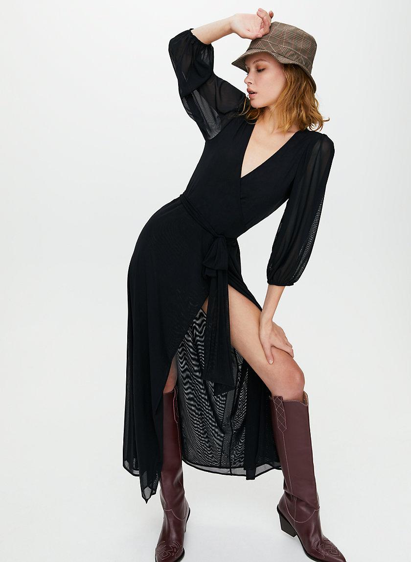 VESPER DRESS - Wrap maxi dress