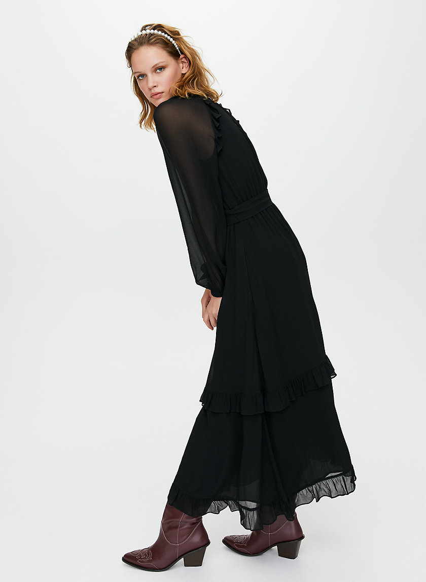 VERBENNA DRESS - Ruffled maxi dress