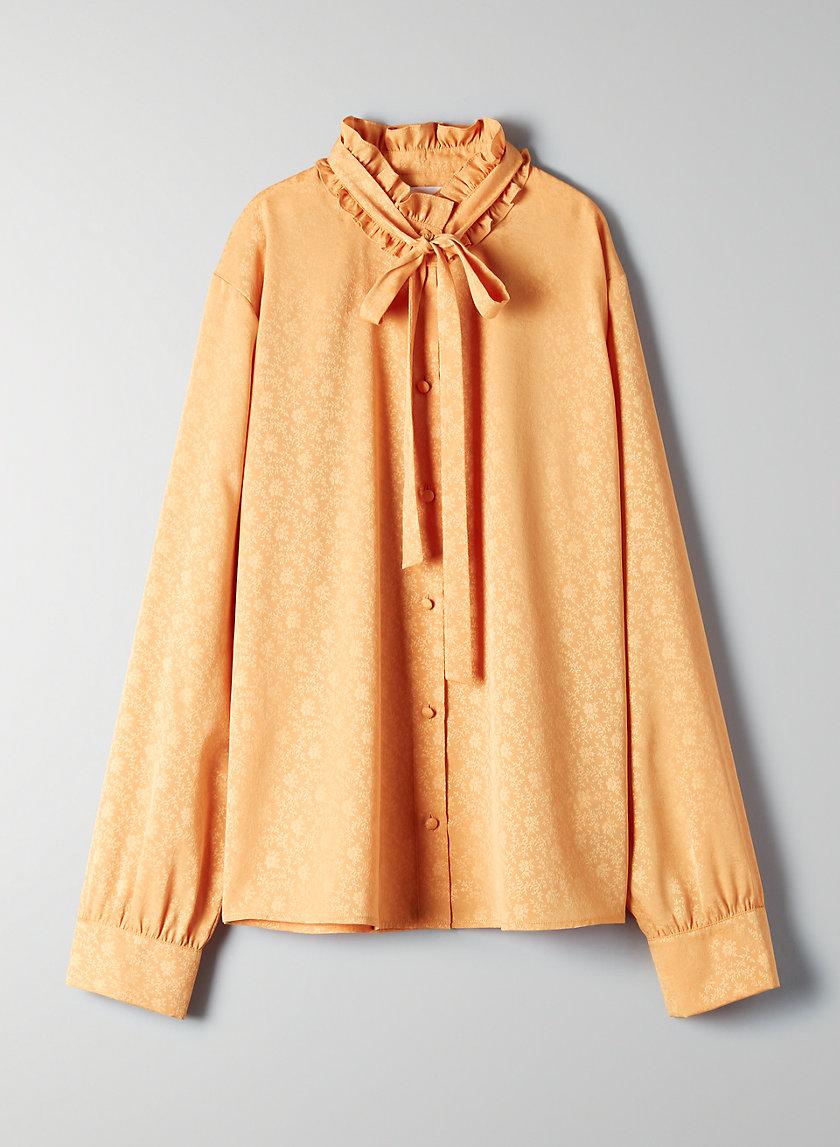 BALBOA BLOUSE - Long-sleeve button-up blouse