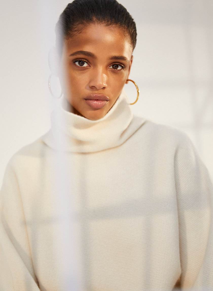 GOLDIN SWEATER - Roll-neck cashmere sweater