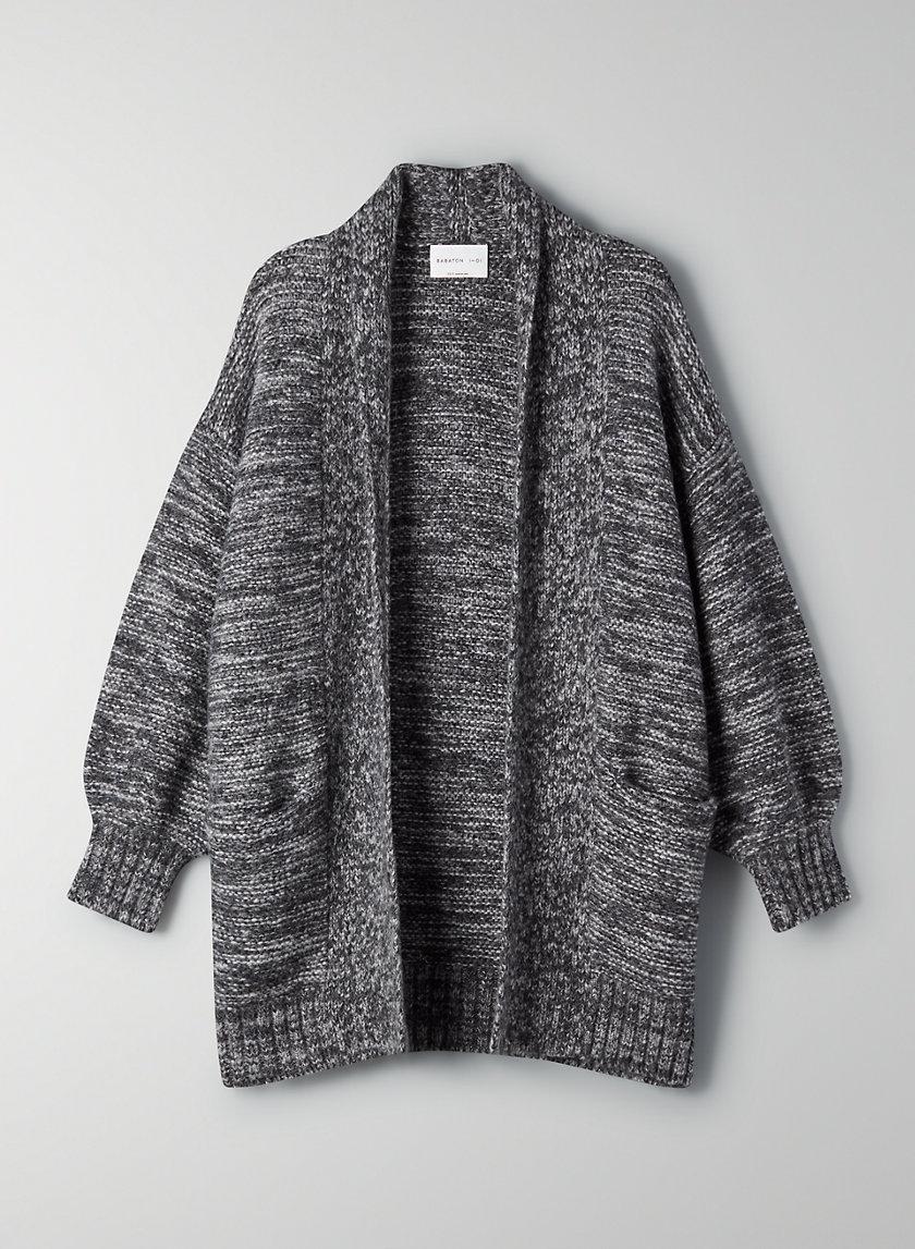 GRIFFITH CARDIGAN - Oversized wool cardigan
