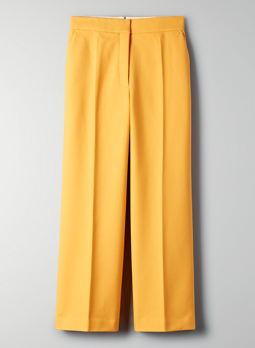 GRIFFITH PANT - Wool-cashmere trousers