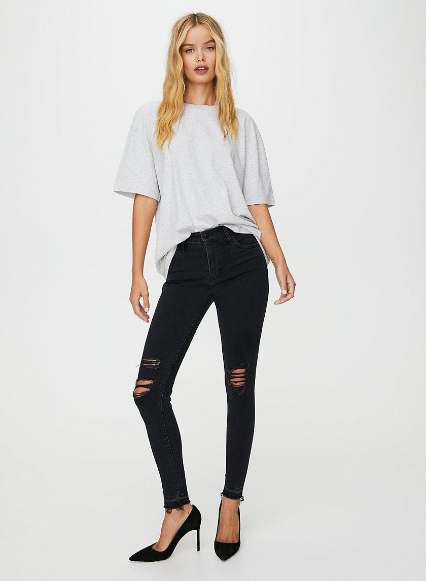 720 HIGH SUPER SKINNY - High-waisted, ripped skinny jean