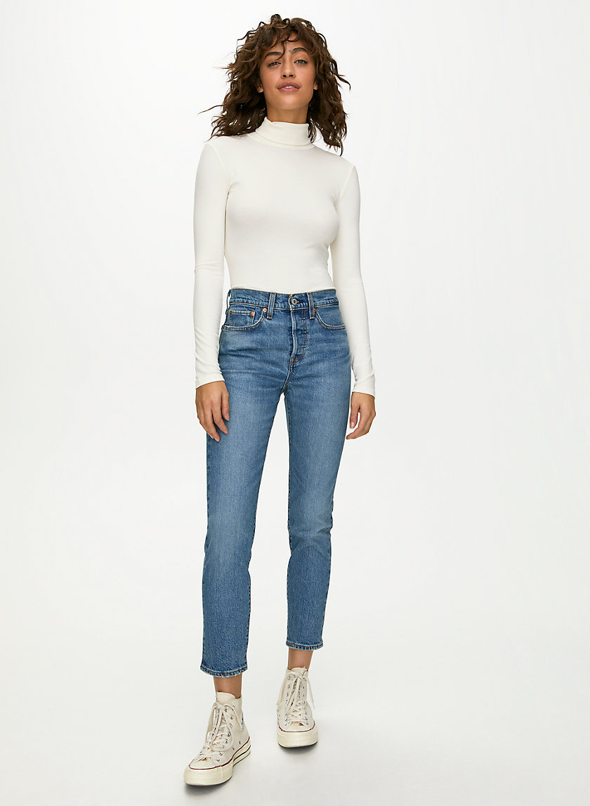 WEDGIE ICON - High-waisted, skinny jean