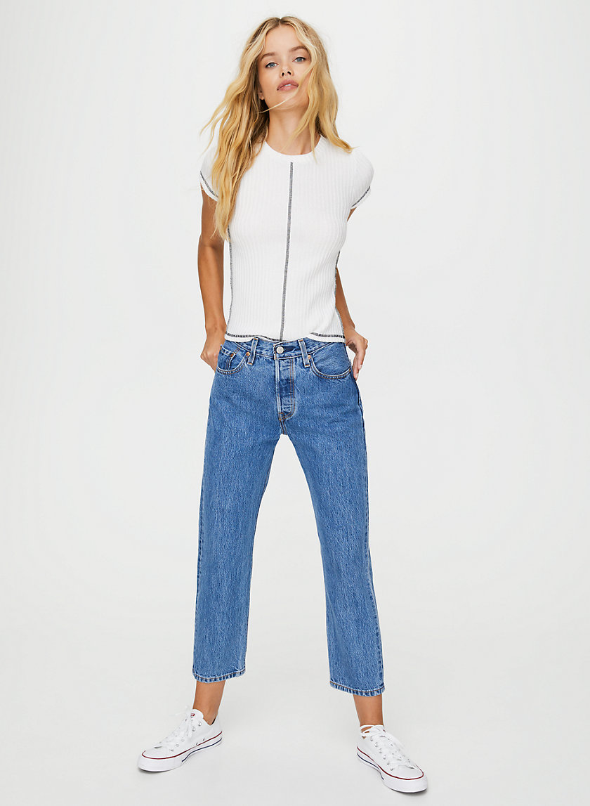 501 CROP - Cropped, straight-leg jeans