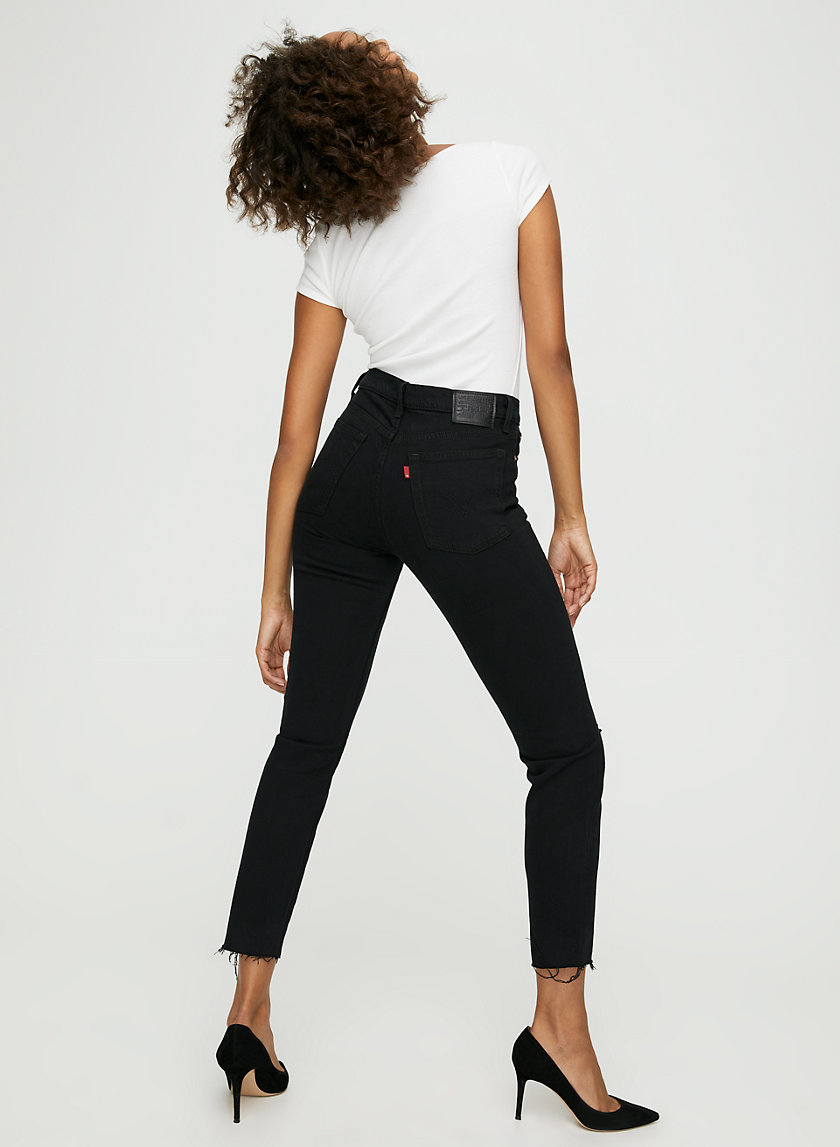 WEDGIE ICON - High-waisted mom jean
