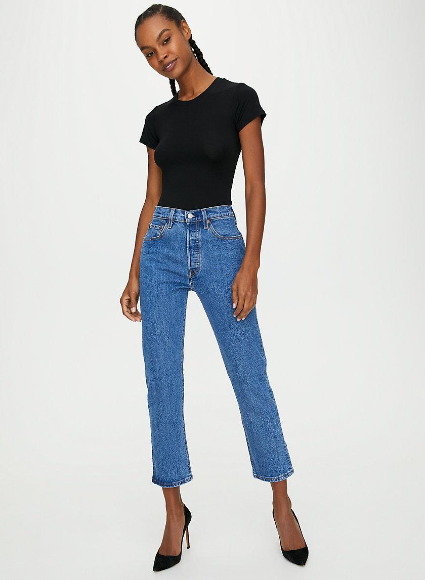 501 CROP - Cropped straight-leg jean