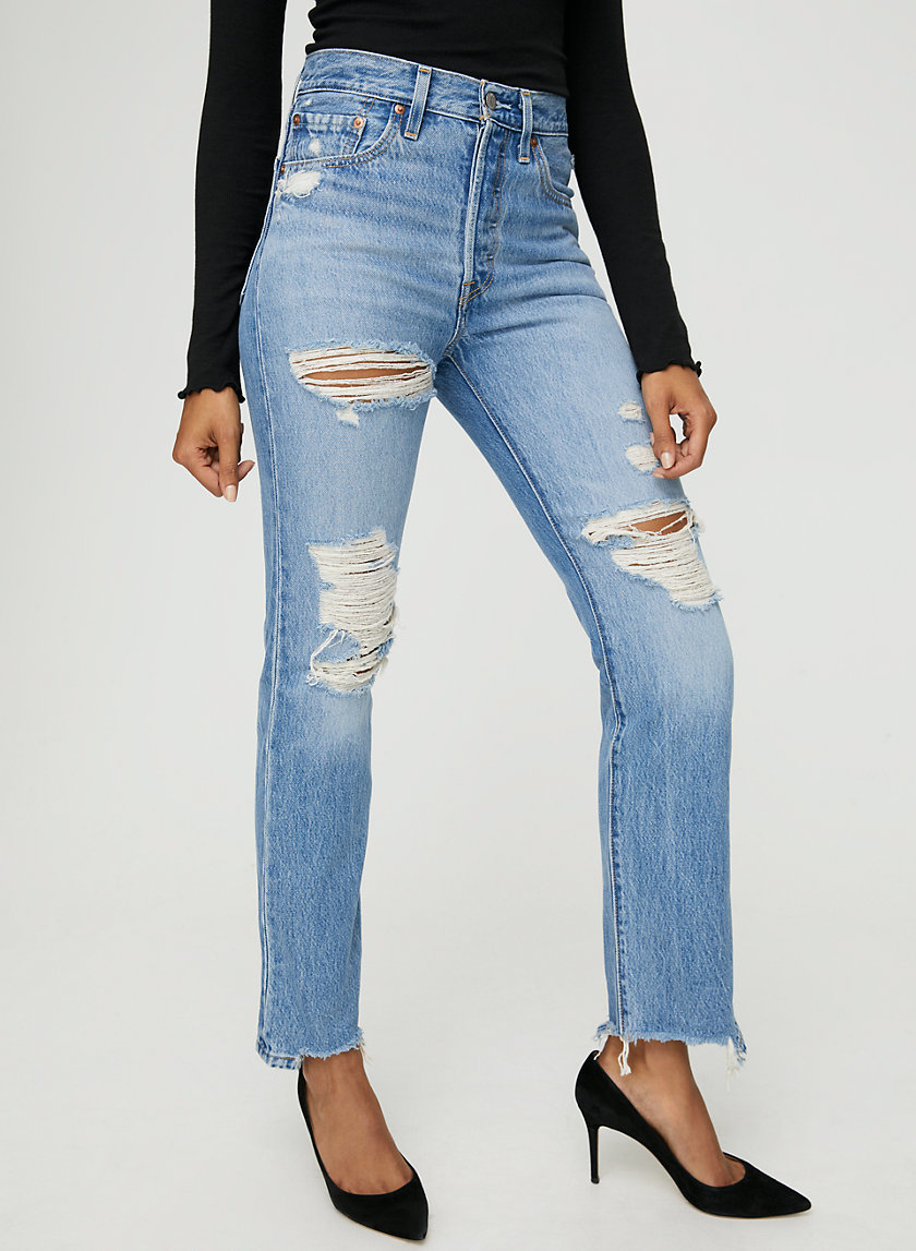 501 STRAIGHT - High-waisted straight-leg jeans